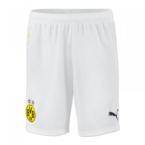 Pantalones de punto del BVB 20/21 para niños (blancos)