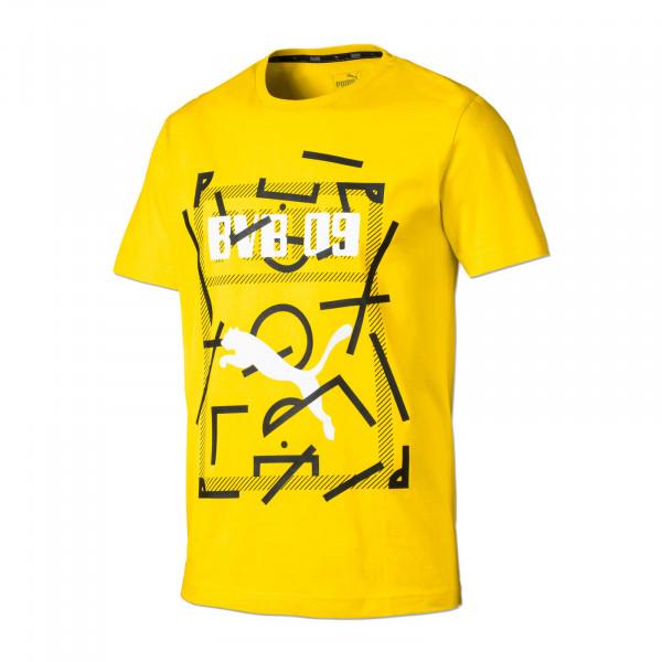 BVB-19/20黄色球迷衬衫(彪马)