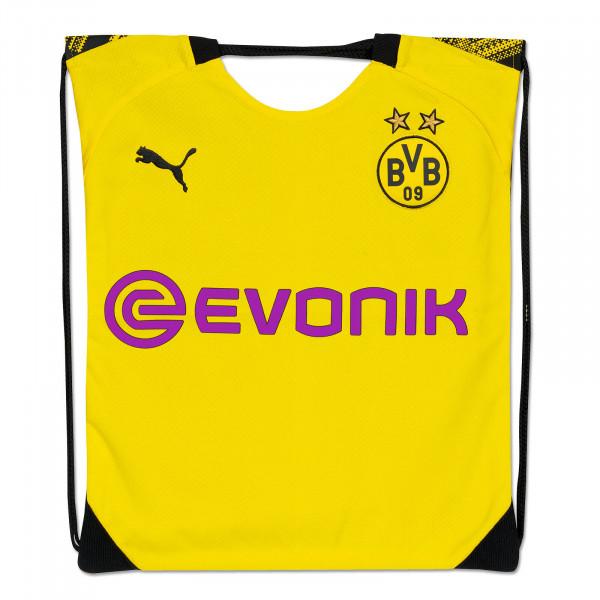BVB Gym Bag Shirt 19/20 Upcycling (Front)