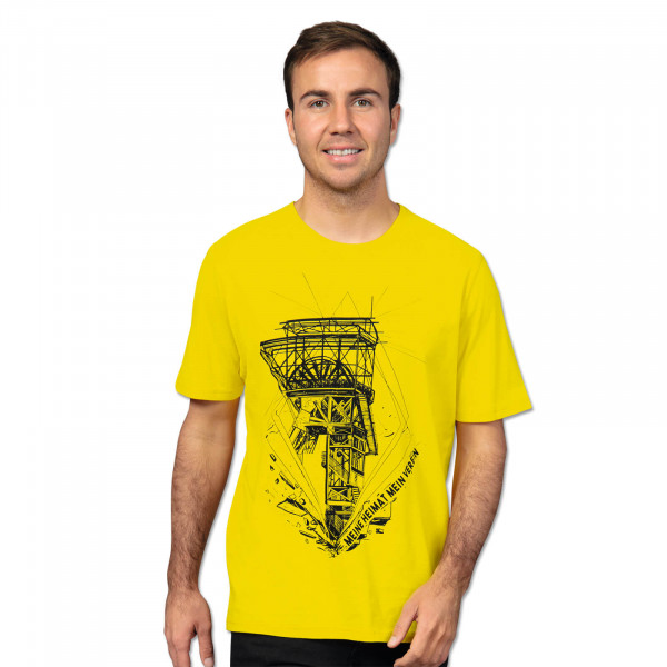 BVB MHMV T-Shirt for Men Yellow