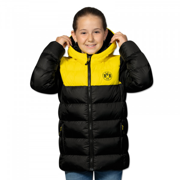 BVB Winter Jacket Black/Yellow For Kids