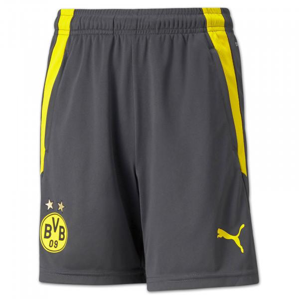 BVB Training Shorts 21/22 (asphalt) kids