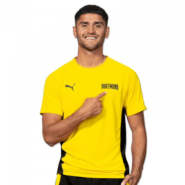 BVB T-Shirt Evostripe (Yellow)