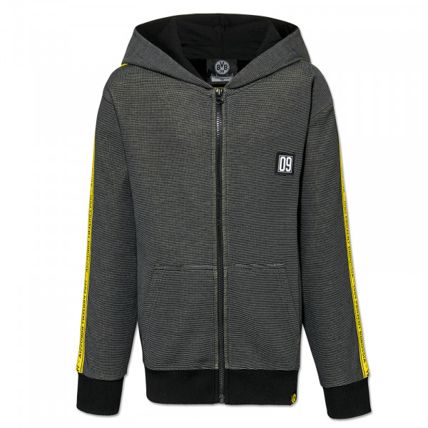 BVB hooded sweat jacket 1909% for kids