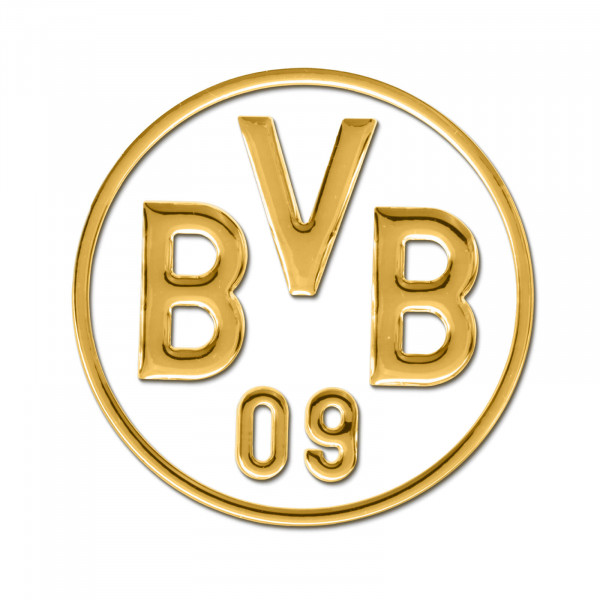 BVB car sticker (gold)
