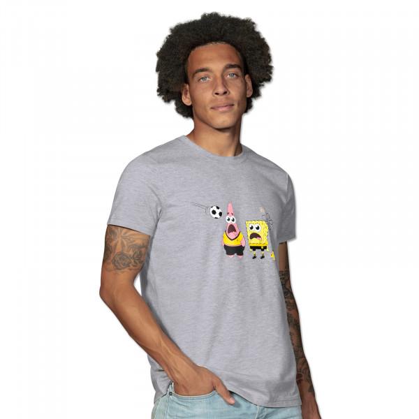 T-shirt BVB Bob l'Éponge, gris