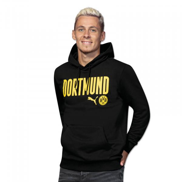 BVB Hoodie Dortmund 20/21 (Black)