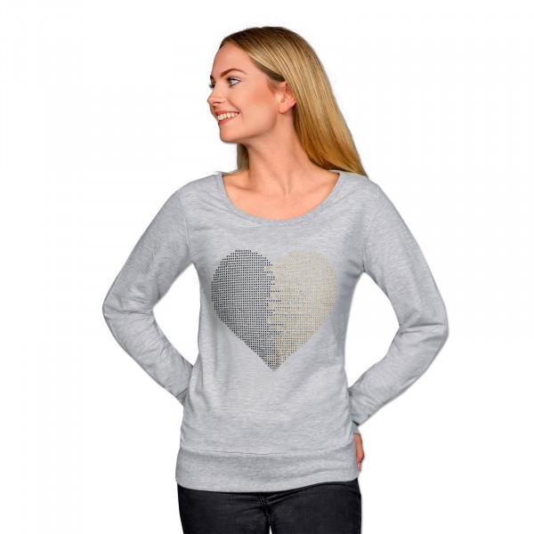 BVB Sweatshirt with Rhinestones