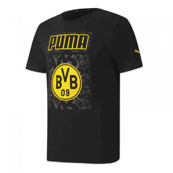 Camiseta BVB Ftbl Core 20/21 (negra)