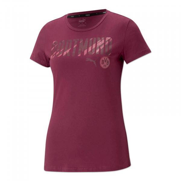 BVB T-shirt Ftbl Core 20/21 (Rosé Wine)
