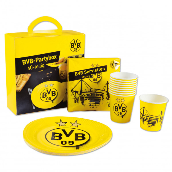 BVB party box (set of 40)