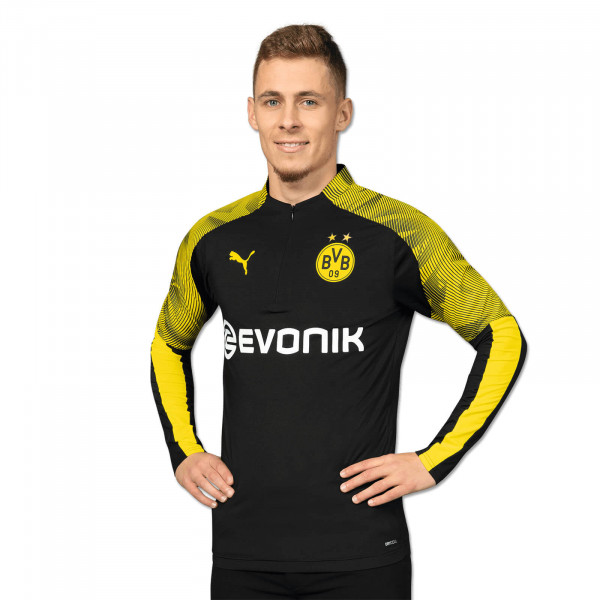 BVB Zip training-shirt 19/20 (black)