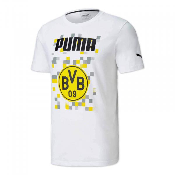 T-Shirt BVB Football Core 20/21 (blanc)