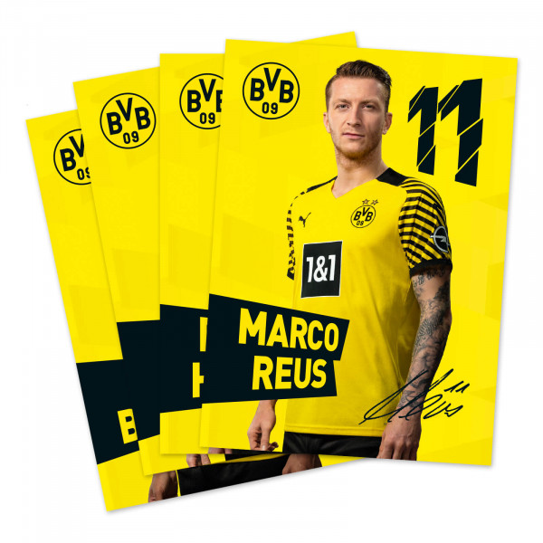 BVB autograph card set w. printed signature 2021/22