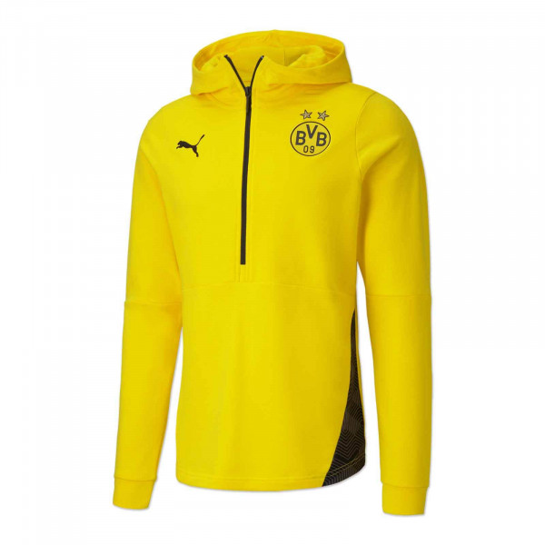 BVB Casual Hoodie 20/21 for Kids (Yellow)