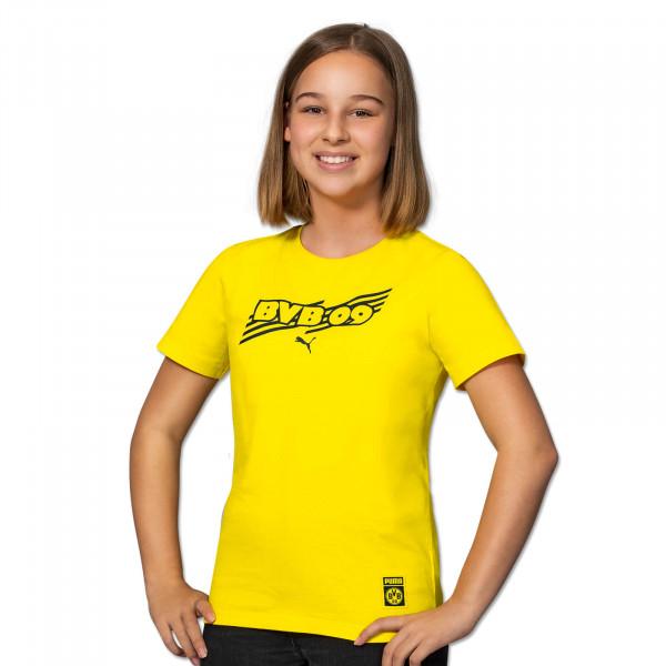 BVB T-Shirt Ftbl Core (Yellow) for Kids