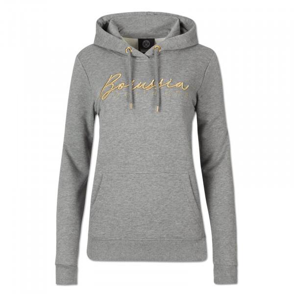 BVB Basic Hoodie Ladies grey-mottled