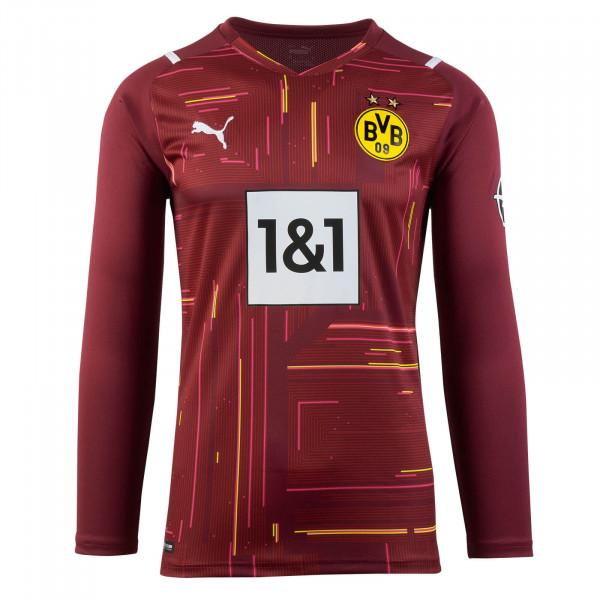 BVB Goalkeeper Shirt 21/22 (Red) Kids