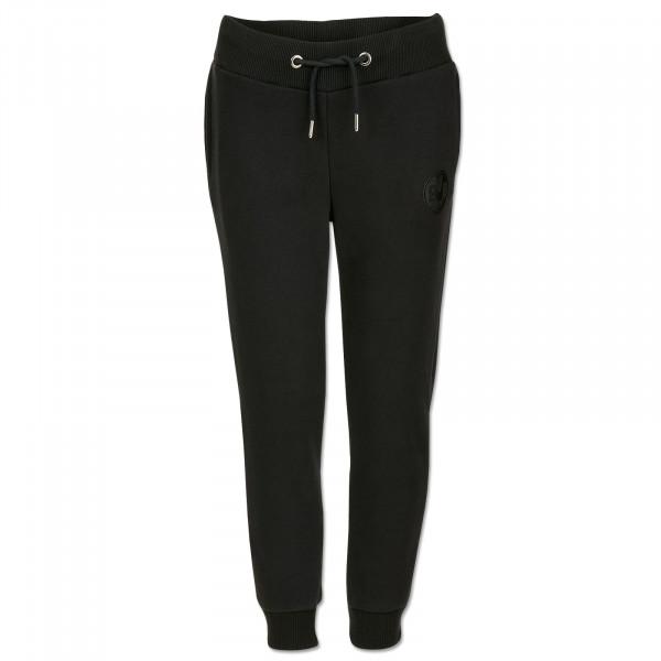 BVB jogging pants black on black for kids