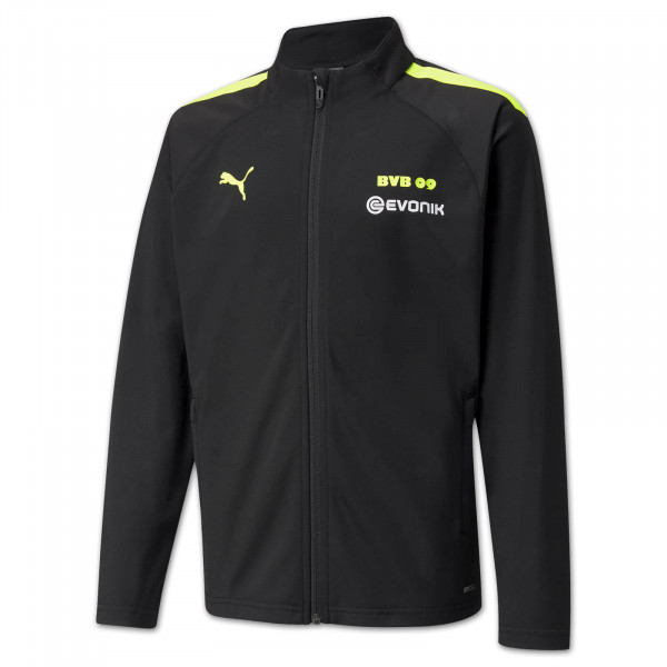 BVB presentation jacket 21/22 (black-neon) for children