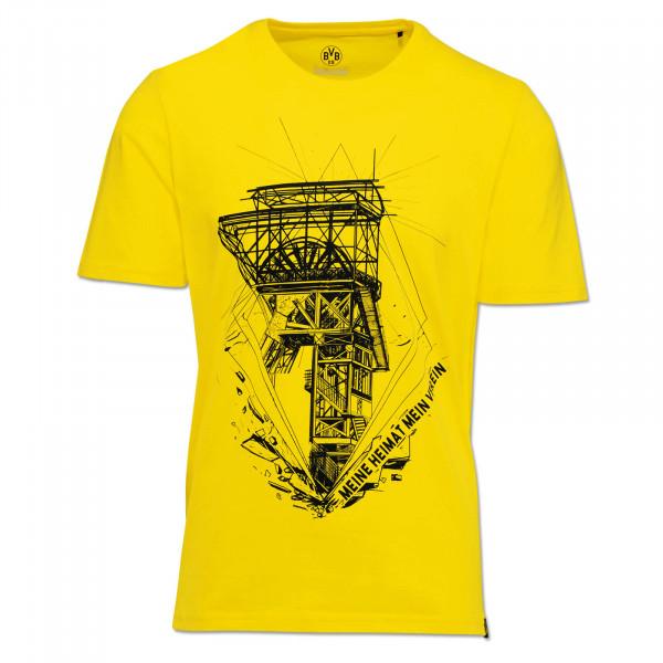 BVB MHMV T-Shirt for Men Yellow
