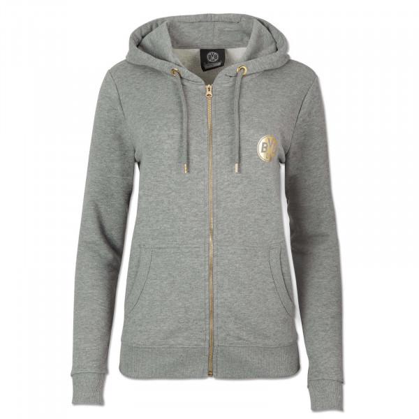 BVB basic sweat jacket ladies grey-melange