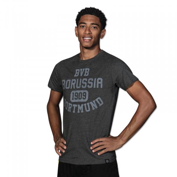 T-Shirt basique BVB pour homme, gris