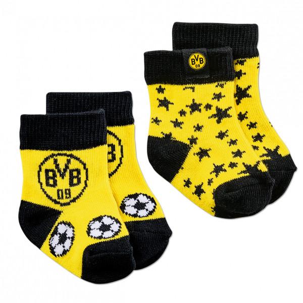 Chaussettes BVB pour jeunes enfants (lot de 2)