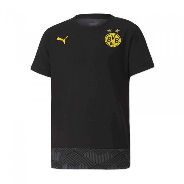 T-shirt loisir du BVB 20/21 pour enfants (noir)