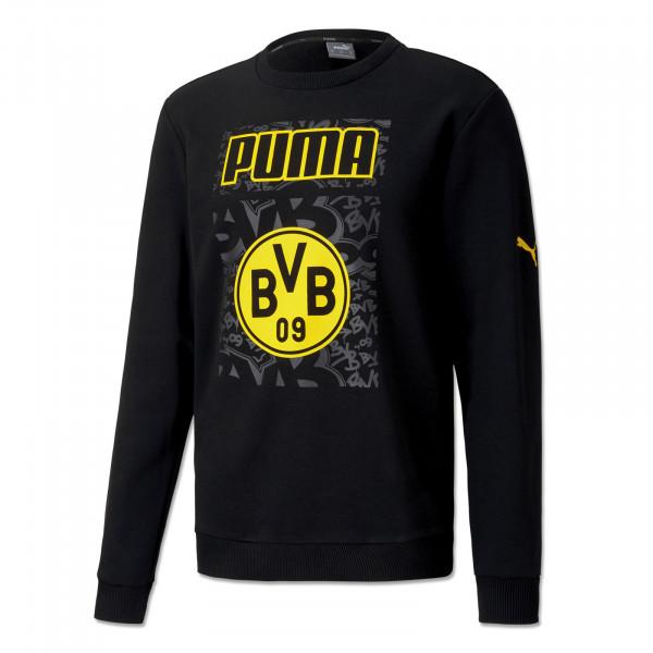 BVB Sweatshirt Ftbl Core 20/21 Kids (Black)