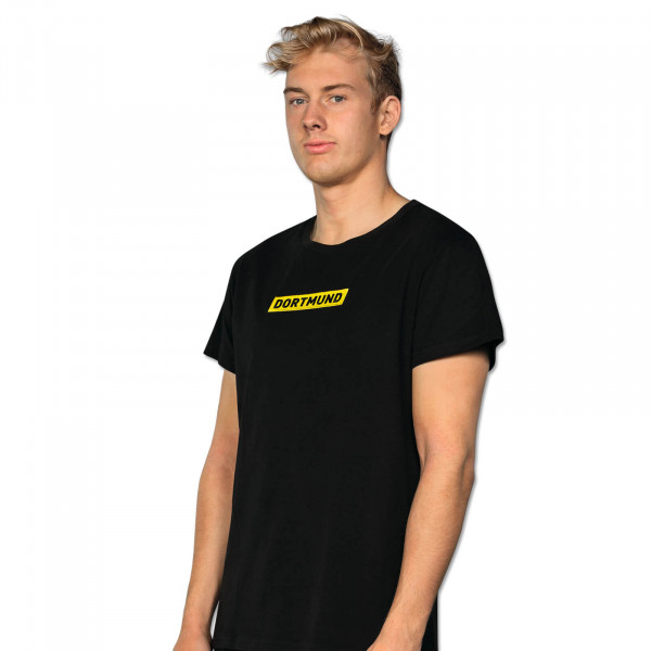 MEN'S BVB LOGO T-SHIRT BLACK