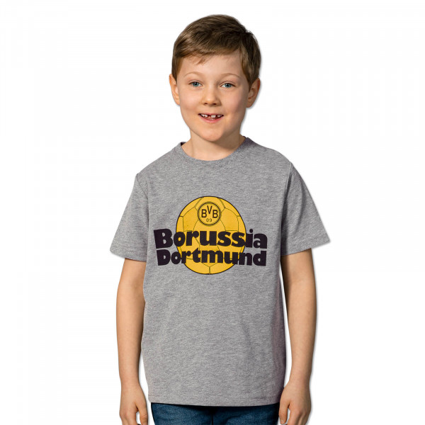 BVB Retro T-Shirt for children grey