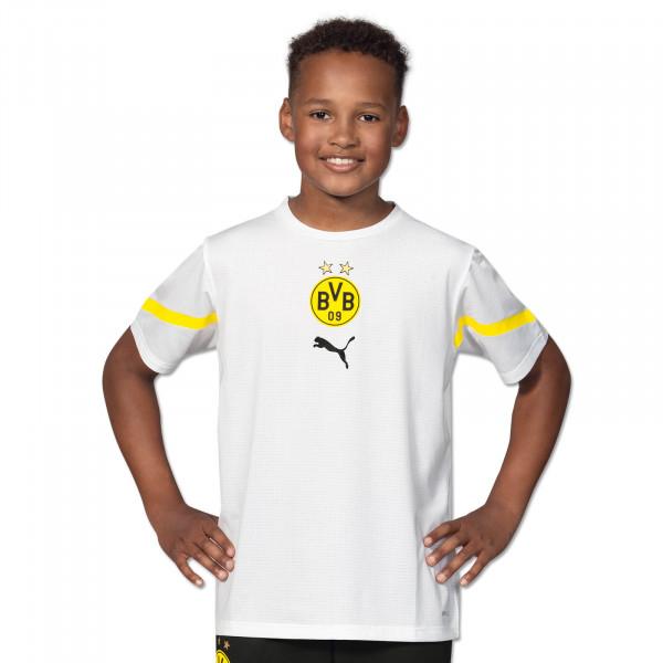 BVB Pre-Match Shirt (White) for Kids