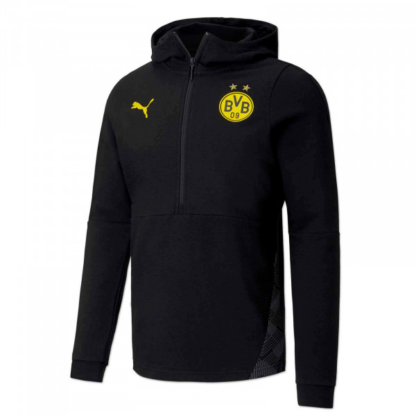 BVB leisure hoodie 20/21 (black)
