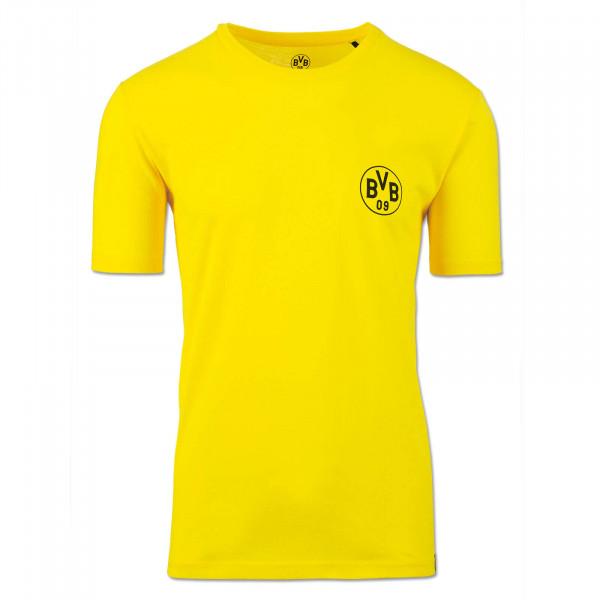 T-shirt BVB jaune, pour hommes