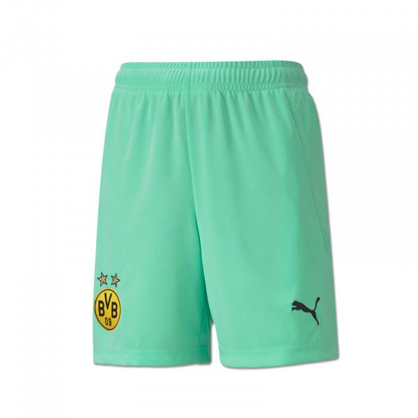 BVB Goalkeeper Shorts 20/21 for Kids (green)