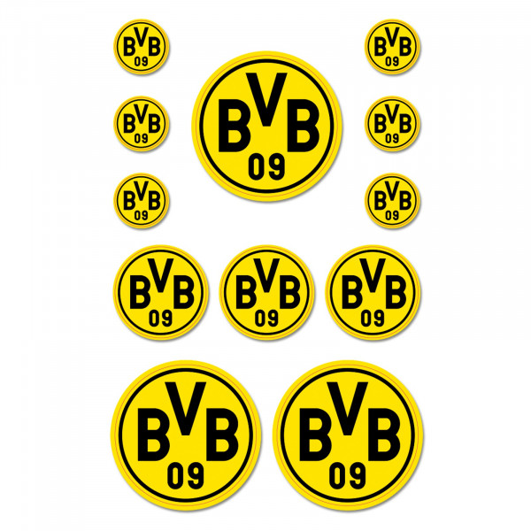 BVB sticker card