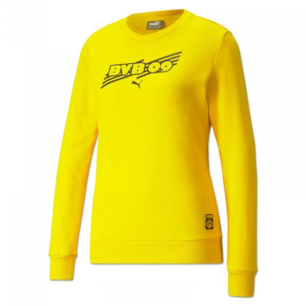 BVB Sweatshirt Ftbl Core (Yellow) for Women