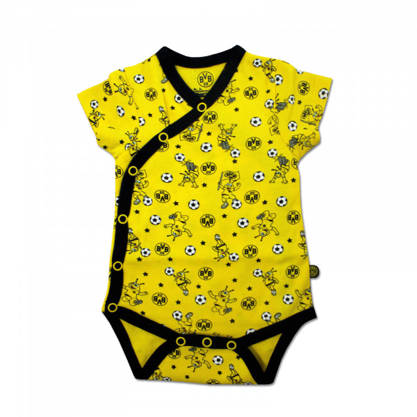 EMMA Wrapover Bodysuit (Yellow)