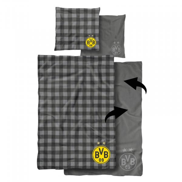Linge de lit réversible BVB (155x220cm)