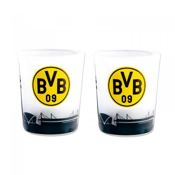 BVB tea light glasses (set of 2)