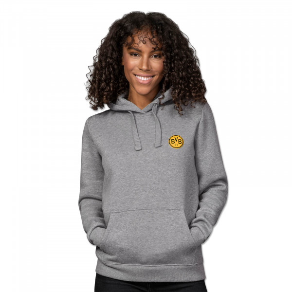 BVB Retro Hoodie for women grey