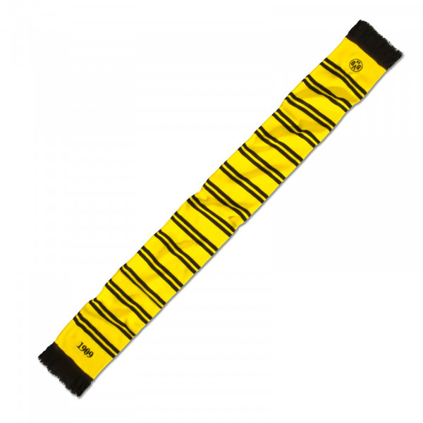 BVB scarf with stripes (yellow)
