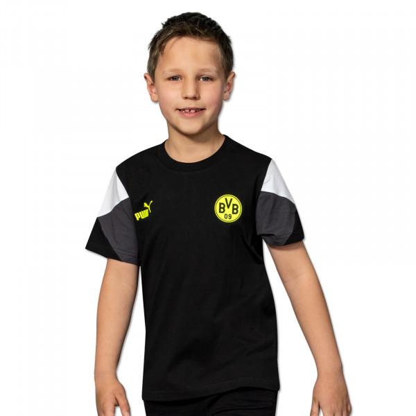 BVB T-Shirt Ftbl Culture (black/neon) kids