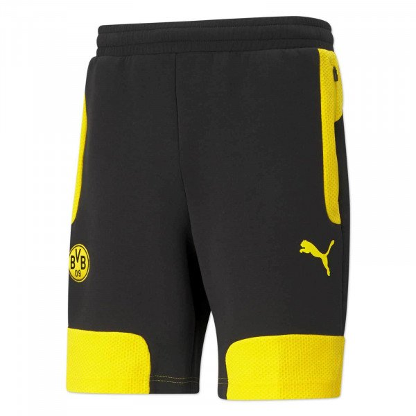 Pantalones cortos del BVB Evostripe (negro-amarillo)