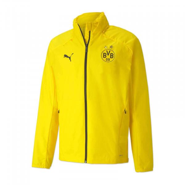 Veste d'entraînement imperméable BVB 20/21 pour enfant (jaune)