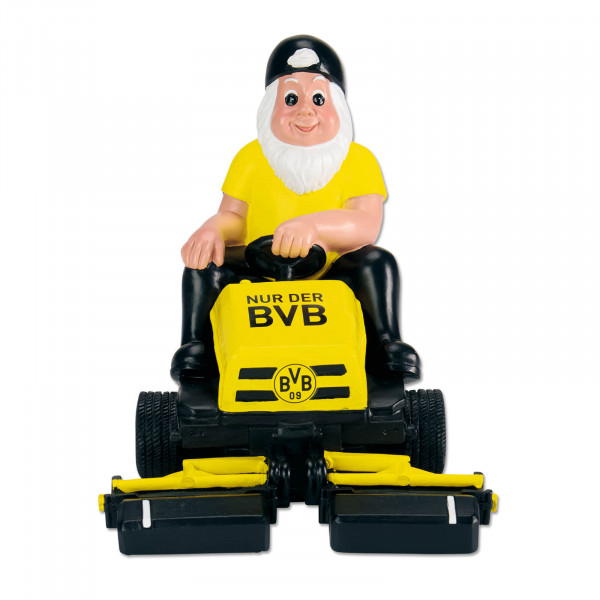 BVB garden gnome ride-on mower