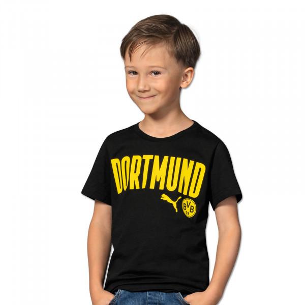 BVB T-Shirt Dortmund 20/21 Kids (Black)