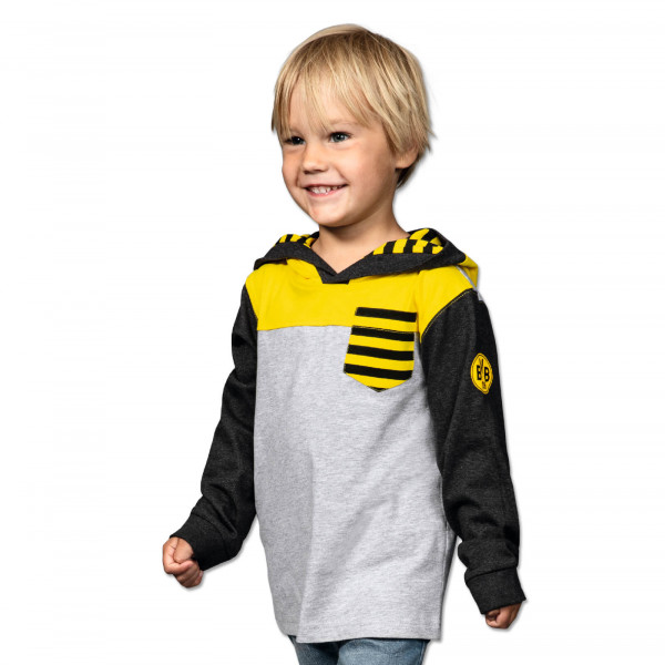 BVB hooded sweatshirt for toddlers