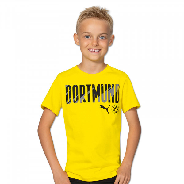BVB T-Shirt Dortmund 20/21 Kids (Yellow)